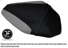Diseño 2 Negro y Gris Vinilo Personalizado Para Kawasaki ZX10R 1000 16-17 Funda de Asiento Trasero