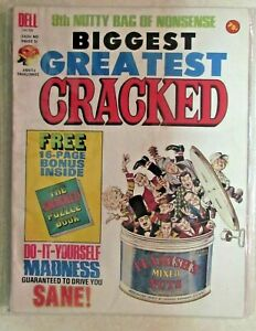 CRACKED MAGAZINE - GIANT SIZE ANNUAL ISSUE - 1974 - LOW-GRADE READER COPY