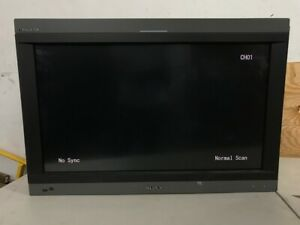 Sony PVM-L3200 Broadcast LCD Monitor Used in Stock