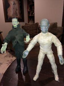 Monsters Kenner Signature Series, Universal Studios -1998 Mummy & Frankenstein