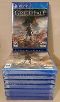 Greedfall (PS4) - PlayStation 4 Video Game, Brand New and Factory Sealed