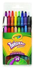Crayola Mini Twistables Crayons - 24 pack (24 Mini Crayola Twistable Crayons)
