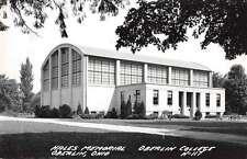 Oberlin Ohio Oberlin College Hales Memorial Real Photo Postcard J60394