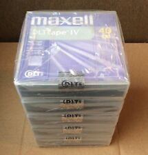 "Maxell DLTtape IV 40 GB DLT Tapes 183270 1/2"" Tape Cartridge (5 pack) - Sealed"