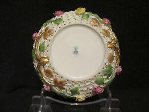Meissen Porcelain Schneeballen  Saucer