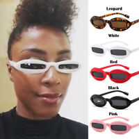 Retro Fashion Oval Goggles Unisex Sunglasses Rapper Oval Shades Grunge Glasses