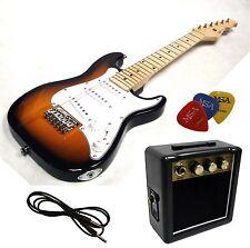 E-guitare pour enfants Mini 78cm-soleil + Amplificateur ma05 + 3pik + style 1