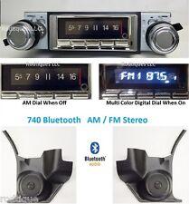 1969-72 Chevelle El Camino Bluetooth Radio Stereo + Kick Panels AC 740