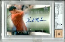 2004 SP AUTHENTIC HUNTER MAHAN SIGN OF THE TIMES AUTOGRAPH BGS 9 AUTO 10