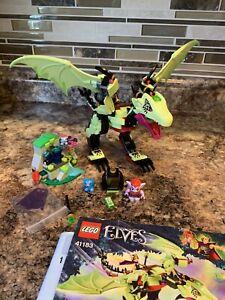 Lego Elves 41183 The Goblin King's Evil Dragon Complete Ashwing