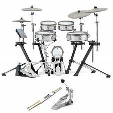 EFNOTE 3 E-Drum Schlagzeug Set Bundle inkl P930 Kick-Pedal u Drumsticks