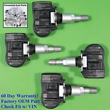 Set of 4 Mitsubishi Tire Pressure Sensor Monitor Tpms Oem 4250B975 Set-Ts56