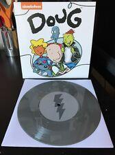 "Nickelodeon Doug Songs From Bluffington - Vinyl 7"" Silver Skeeter Variant Record"