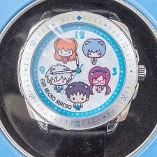 Evangelion EVA Micro Macro Wrist Watch Asuka Rei Shinji Kaworu Mari SEGA JAPAN