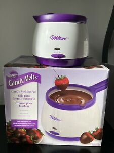 Wilton Chocolate & Candy Melts Melting Pot With Box And Instructions Excellent