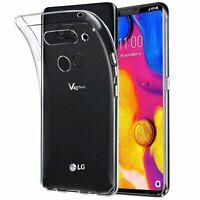 Lg V40 Thinq Transparent Etui pour Téléphone Mobile Étui de Protection Bumper