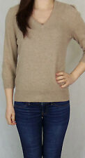 Women's None V Neck 3/4 Sleeve Cashmere Jumpers & Cardigans