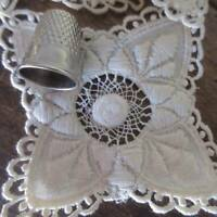 37 PC Victorian Antique Embroidered Lace Appliques French Doll Dressing