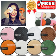 Reusable Makeup Remover Pads Microfiber Face Cleaner Puff Facial Cleansing Skin