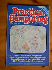 Practical Computing magazine Oct 1983 - Acorn Electron - IBM PC XT - Listings