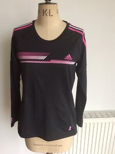 ADIDAS Climalite Breast Cancer Jersey Top Size 16 New