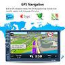 "7"" 2 DIN HD Autoradio GPS Stereo MP5 AUX-IN FM Bluetooth Player Navigatore AM SD"