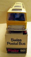 Dinky Toys, 961 Vega Major Coach 'Swiss Postal Bus',   original