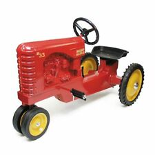 Massey Harris 33 Narrow Front Pedal Tractor with Muffler by Scale Models FT-0969