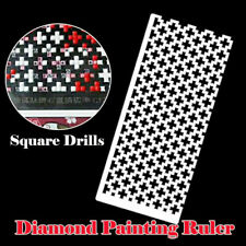 DIY Diamond Painting Ruler Square Round Drills Diamond Embroidery Accessories