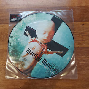 """MARILYN MANSON DISPOSABLE TEENS 12""""  PICTURE DISC NEAR MINT"""