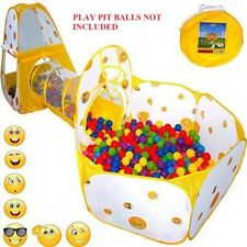 Ball Tent Tunnel Pull Baby Toys Crawl Fun Play Toddler Kids Boy Girl New