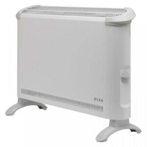 Glen Dimplex Freestanding 2000W Convector Heater with Thermostat & Frost Setting