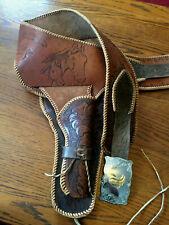 Handmade Leather Cap Gun Holster for a Boy Named Jim!