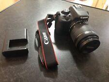 USATO Canon EOS 100D 18.0MP Fotocamera Reflex Digitale-Nero (Kit con Obiettivo 18-55mm)