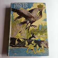 Vintage book Aesops Fables 1959 Collectible