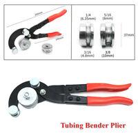 "Car Brake Pipe Bender Fuel Line Tubing Bending Plier Tool 3/16"" 1/4"" 5/16"" 3/8"""