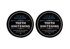 2x Carbon Coco Aktivkohle Zahnpolitur Whitening Zahnpasta weiße Zähne 30g
