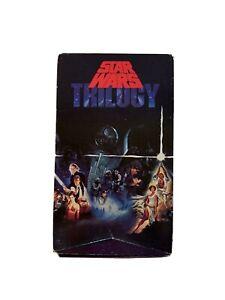 Star Wars Trilogy VHS 1990 3-Tape Box Set Original CBS Fox Unedited