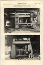 1900 forno di ricarica MACCHINA Wellman Accessorio circostante CLEVELAND OHIO