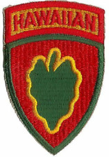 US ARMY HAWAIIAN CADRE UNIT PATCH WWII (REPRODUCTION)