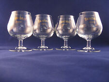 VINTAGE BAUCHANT FRENCH LIQUEUR SNIFTER SET OF 4 NEW OLD STOCK SET OF 4 RARE