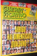 GUERIN SPORTIVO=N°41 1993=MAXIPOSTER CM 80X54 FRANCO BARESI=FIGURINE 93/94