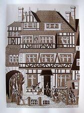Set of 10 JEAN GRADASSI Memoirs of Cardinal Dubois 1950 Illustrations RARE ART