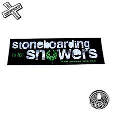 POORBOY'stoneboarding est pour snowers' Autocollant snowboard planche de