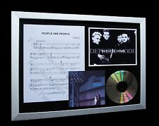 DEPECHE MODE People Are LTD Numbered CD FRAMED DISPLAY!