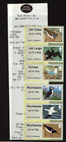 Birds 4 - WINCOR COLLECTOR STRIP - BROADWAY - Post & Go   with RECEIPT