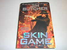 SKIN GAME--SIGNED by JIM BUTCHER--1ST--HARDCOVER