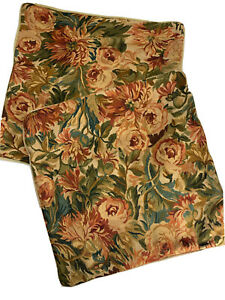 """Ralph Lauren Great Barrington Tapestry Floral Multi 18"""" Square Toss Pillow Cover"""