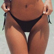 Womens Ladies Swimwear Thong Bikini Bottom Swimming Beach G-string Underwear SP