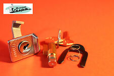 0307-KIT SERRATURA VESPA PX 125 150 200 GUIDA 6MM BLOCCASTERZO E BAULETTO ZADI